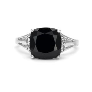 кольцо с шпинелью из серебра 925 пробы